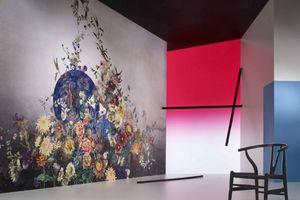 JAKOB SCHLAEPFER - poppy byobu - Revêtement Mural