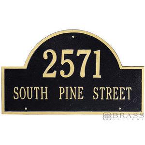Plaque de nom de rue