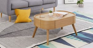 MADE -  - Table Basse Ovale