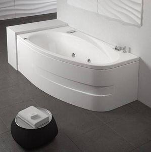 Grandform - bath life hydromassage 160x90 digital plus avec cascade - taps: sans robinet - - Baignoire Balnéo
