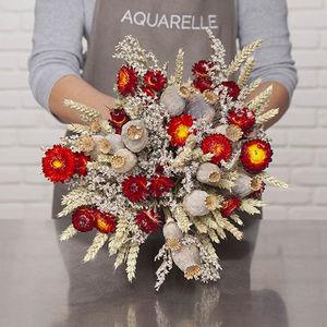 AQUARELLE -  - Fleur Sechée