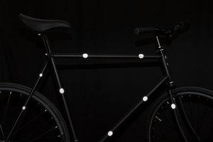 Sticker réflechissant pour vélo
