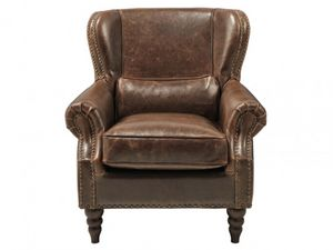WHITE LABEL - fauteuil edouard - Fauteuil Club