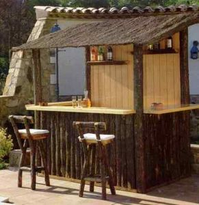 GARDEN DESIGN -  - Bar De Jardin