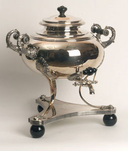 ANTIQUES LACARTA DECORACI�N - berlin samovar 1800 - Samovar