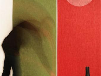 Lily Latifi - gouttes de pluie - Panneau Japonais