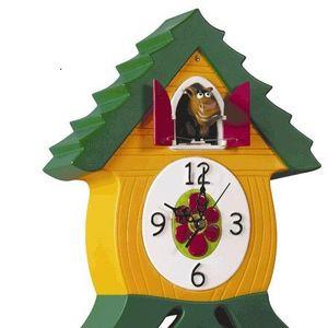 KADO OM DE HOEK - clock (cuckoo) horse - Horloge Coucou