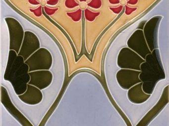 Replicata - dekorfliese blütenstengel - Carrelage Mural