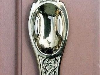 Replicata - schiebetürmuschel jugendstil floral - Plaque De Poignée De Porte