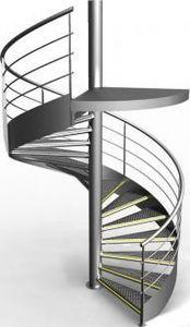 Gantois -  - Escalier Hélicoïdal