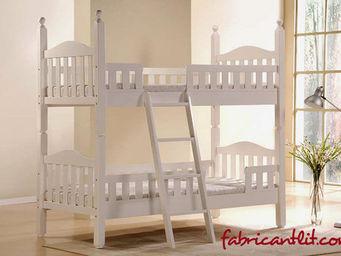 FABRICANT LIT.COM - baris bunk blanc - Lits Superpos�s
