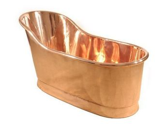 THE BATH WORKS - copper slipper - Baignoire Ilot