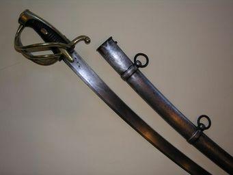 Aux Armes d'Antan - sabre r�glementaire fran�ais de cavalerie l�g�re, mod�le an xi, troupe - Sabre