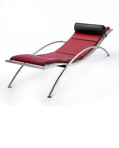 Meyer Stahlmobel -  - Chaise Longue