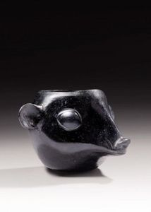 Galerie 1492 - tête d'animal huari - Vase Décoratif