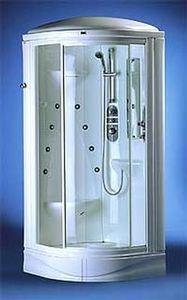 Sanitaire Equipement Sanitec - top hammam - Cabine De Douche Intégrale