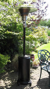 Urban Industry - granite black patio heater - free delivery - Parasol Chauffant Au Gaz