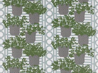 Equipo DRT - patmos jade - Tissu Imprimé