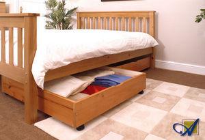 Alba Beds Ltd. - pine drawers set - Lit À Tiroirs