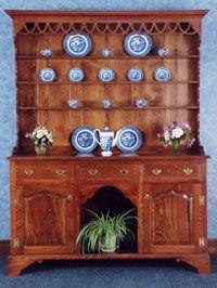 Makepeace Cabinetmaking -  - Vaisselier