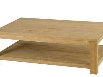 MEUBLES ZAGO - table basse chêne côme - Table Basse Rectangulaire