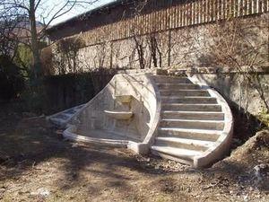 Astree -  - Escalier À Double Volée