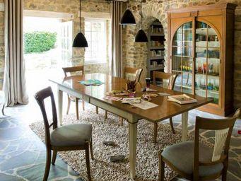 Grange - sendhal - Table De Repas Rectangulaire