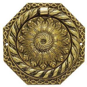 FERRURES ET PATINES - poignee de meuble octogonale en bronze louis phili - Entrée De Meuble