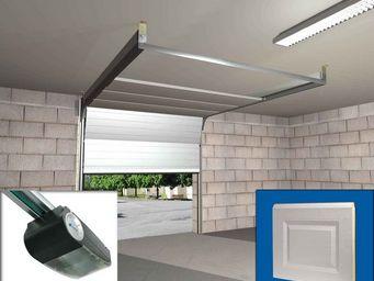 Wimove - ensemble porte sectionnelle motorisee panneaux cas - Automatisme Et Motorisation Pour Porte De Garage