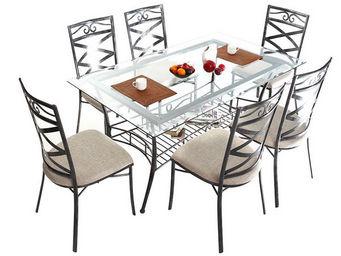 Miliboo - venezia table manger - Table De Repas Rectangulaire