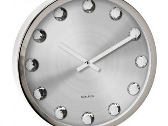 Karlsson Clocks - karlsson - horloge big diamond - karlsson - - Horloge Murale
