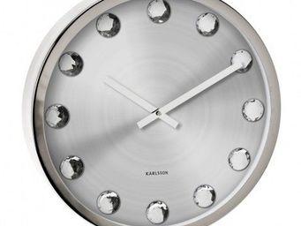 Karlsson Clocks - karlsson - horloge big diamond - karlsson - - Horloge Murale