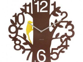 Karlsson Clocks - karlsson - horloge woodpecker �? 42 cm - karlsson  - Horloge Murale