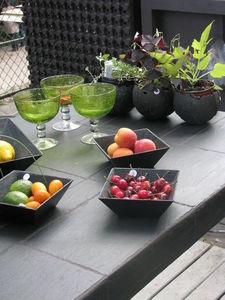 Le Trefle Bleu - carrée - Coupelle À Fruits