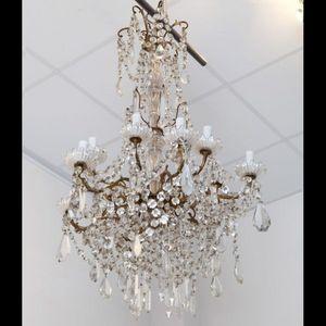 Expertissim - baccarat. lustre en cristal de style louis xvi - Lustre