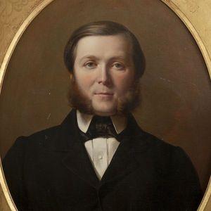 Expertissim - ecole du xixe si�cle. portrait d'homme - Portrait