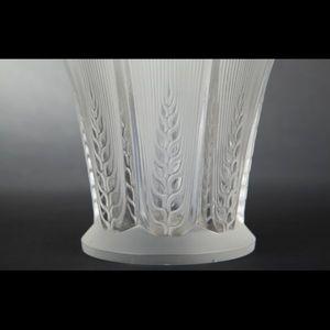 Expertissim - rené lalique. vase ?épis? - Vase À Fleurs