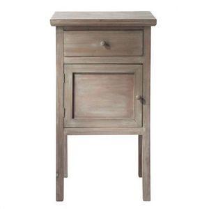Maisons du monde - chevet grisé gustave - Table De Chevet