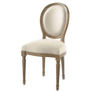 Maisons du monde - chaise louis - Chaise Médaillon