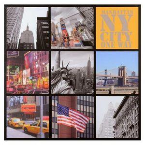 Maisons du monde - toile patchwork new-york - Tableau D�coratif