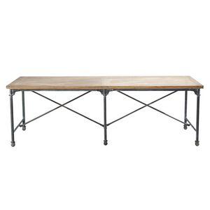 Maisons du monde - table à diner archibald - Table De Repas Rectangulaire