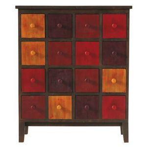 Maisons du monde - cabinet rouge solferino - Cabinet
