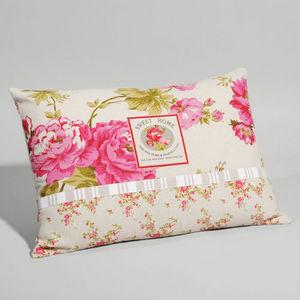 Maisons du monde - coussin floralie - Coussin Rectangulaire