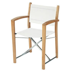 Maisons du monde - fauteuil blanc capri - Fauteuil De Jardin