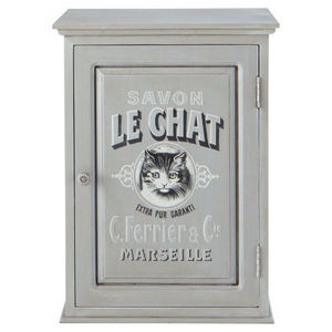 Maisons du monde - meuble haut salle de bain le chat - Meuble De Salle De Bains