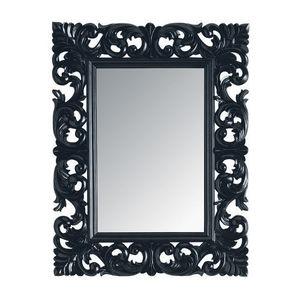 Maisons du monde - miroir rivoli noir 70x90 - Miroir