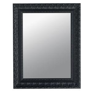 Maisons du monde - miroir marquise noir 76x96 - Miroir