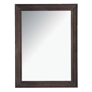 Maisons du monde - miroir esterel foncé 90x120 - Miroir