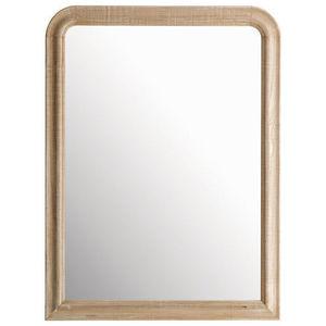 Maisons du monde - miroir florence arrondi 90x120 - Miroir