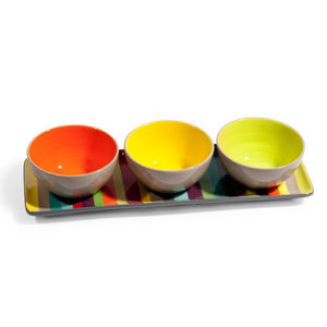 Maisons du monde - plateau 3 coupelles soleya - Coupelle � Ap�ritif